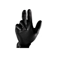 Beybi Siyah Tırtıllı Kalın Eldiven 50'li L