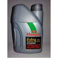 Manpet Extra 20W/50 1L.